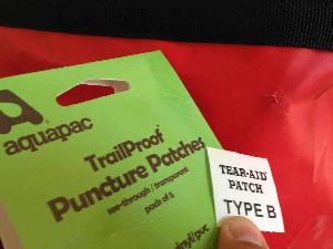 Ремкомплект Aquapac 901 - TrailProof - Puncture Patches.. Aquapac - №1 в мире водонепроницаемых чехлов и сумок. Фото 4