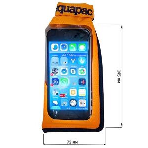 Водонепроницаемый чехол Aquapac 034 - Mini Stormproof Phone Case (Orange)