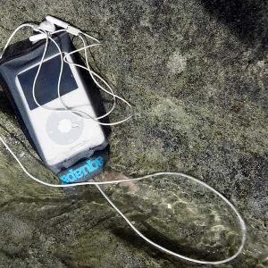 Водонепроницаемый чехол Aquapac 040 - Stormproof iPod Case (Grey)