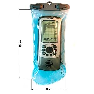 Водонепроницаемый чехол Aquapac 124 - Medium Electronics Case (Light Blue)