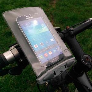 Водонепроницаемый чехол Aquapac 350 - Small Bike Mounted Phone Case (Cool Grey)