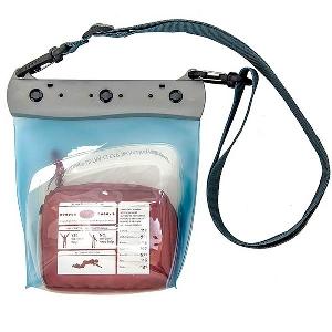 Водонепроницаемая сумка Aquapac 445 - Large Medical Case (Light Blue)