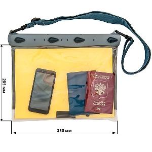 Водонепроницаемый чехол Aquapac 670 - Waterproof Documents Case (Cool Grey)