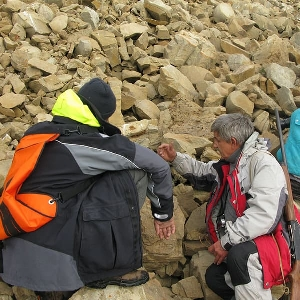 Водонепроницаемый гермомешок рюкзак (с двумя плечевыми ремнями) Aquapac 761 - Noatak Wet & Drybag - 15L (Orange)