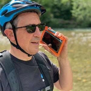 Водонепроницаемый чехол Aquapac 081 - TrailProof™ Phone Case (Orange)